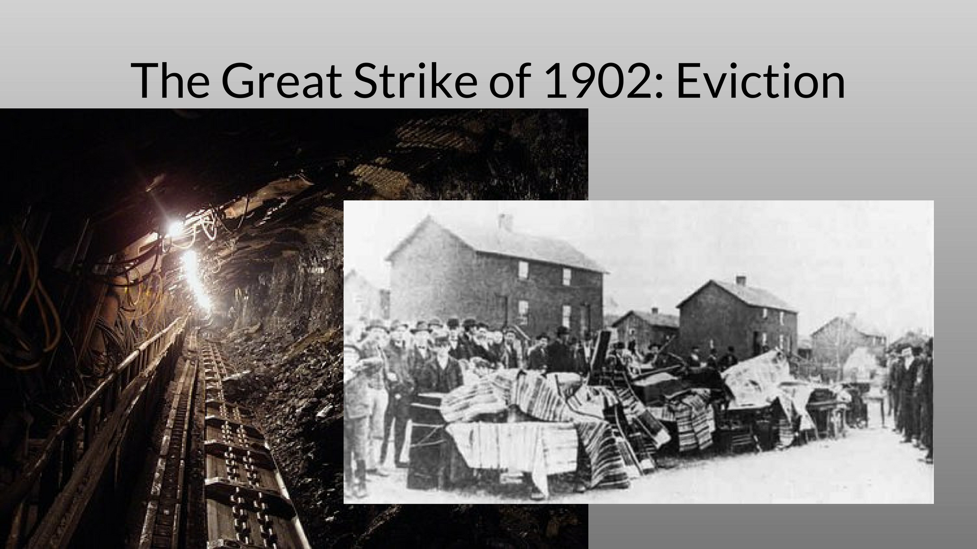 coal miners' strike in 1902