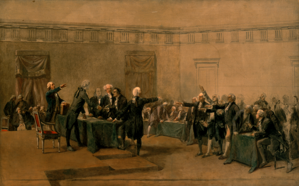 founding fathers signing